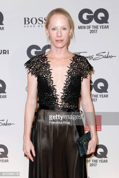 Susanne Wuest arrives for the GQ Men of the year Award 2017 at Komische Oper on November 9 2017 in Berlin Germany