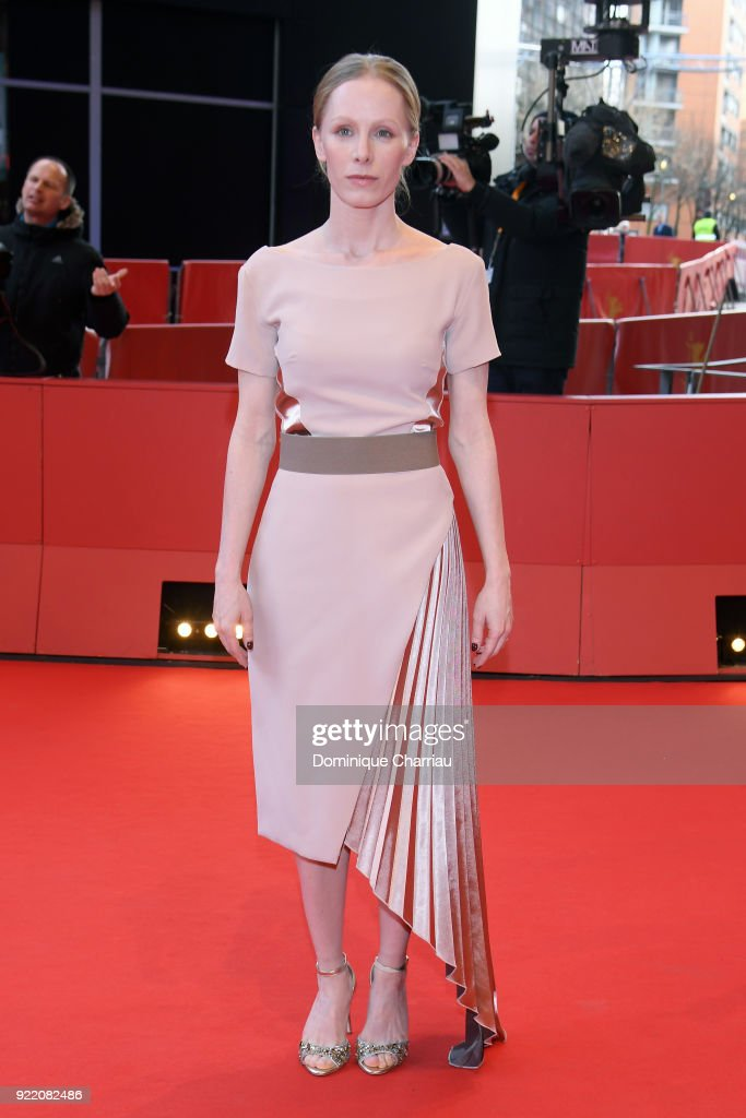 Susanne Wuest attends the 'My Brother's Name is Robert and He is an Idiot' (Mein Bruder heisst Robert und ist ein Idiot) premiere during the 68th Berlinale International Film Festival Berlin at Berlinale Palast on February 21, 2018 in Berlin, Germany.