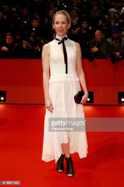 Susanne Wuest attends the Opening Ceremony 'Isle of Dogs' premiere during the 68th Berlinale International Film Festival Berlin at Berlinale Palace...