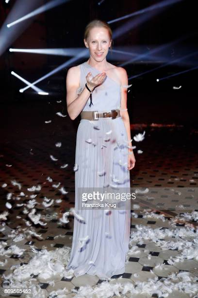 Susanne Wuest attends the When the Ordinary becomes Precious #CartierParty at Old Power Station on November 2 2017 in Berlin Germany