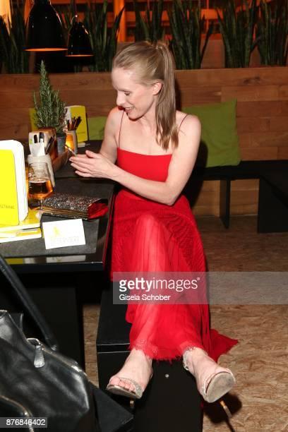Susanne Wuest during the premiere of 'Der Mann aus dem Eis' at Cinemaxx on November 20 2017 in Munich Germany