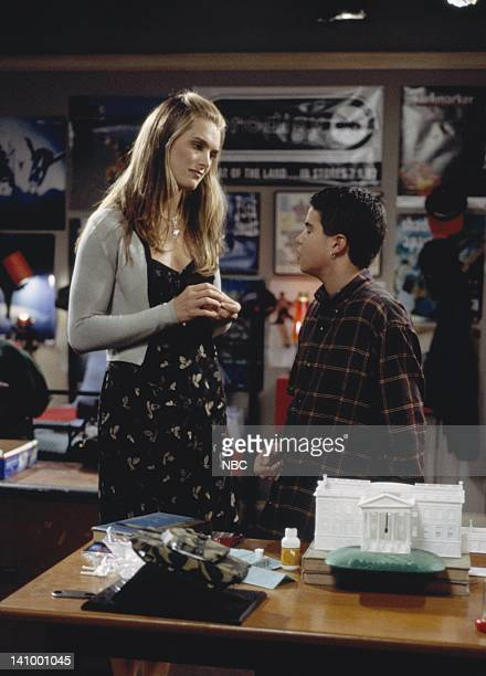 SUSAN Susan's Minor Complication Episode 5 Aired Pictured Brooke Shields as Susan Keane Ross Malinger as Doug Naughton Jr Photo by Paul...