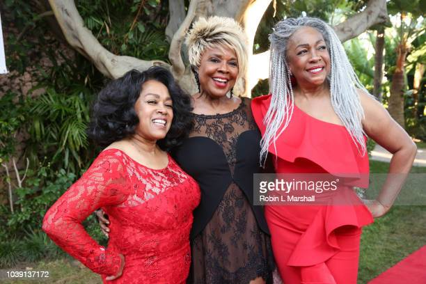 Susaye Greene of 'The Supremes' Thelma Houston and Mary Wilson attend the 29th Annual Heroes And Legends Awards at Beverly Hills Hotel on September...
