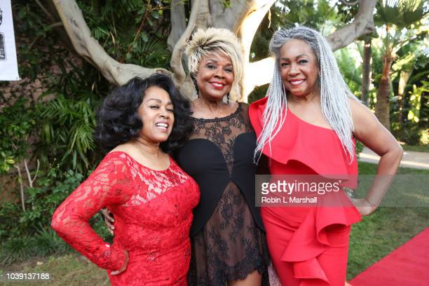 Susaye Greene Thelma Houston and Mary Wilson of 'The Supremes' attend the 29th Annual Heroes And Legends Awards at Beverly Hills Hotel on September...