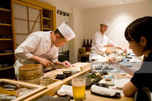 Sushi Bar in Tokyo