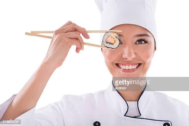 寿司シェフ、