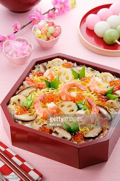 Sushi for Hinamatsuri festival