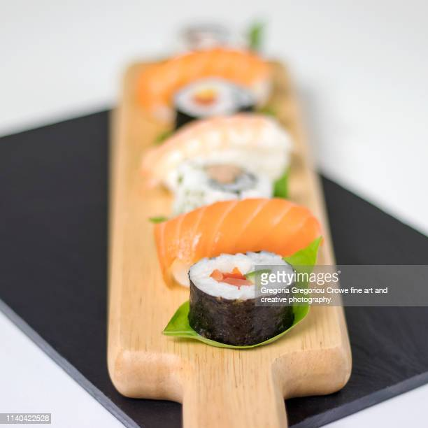 sushi gourmet - gregoria gregoriou crowe fine art and creative photography. stock pictures, royalty-free photos & images