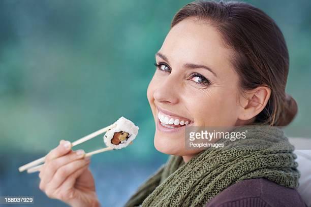 Das Sushi sind lecker!