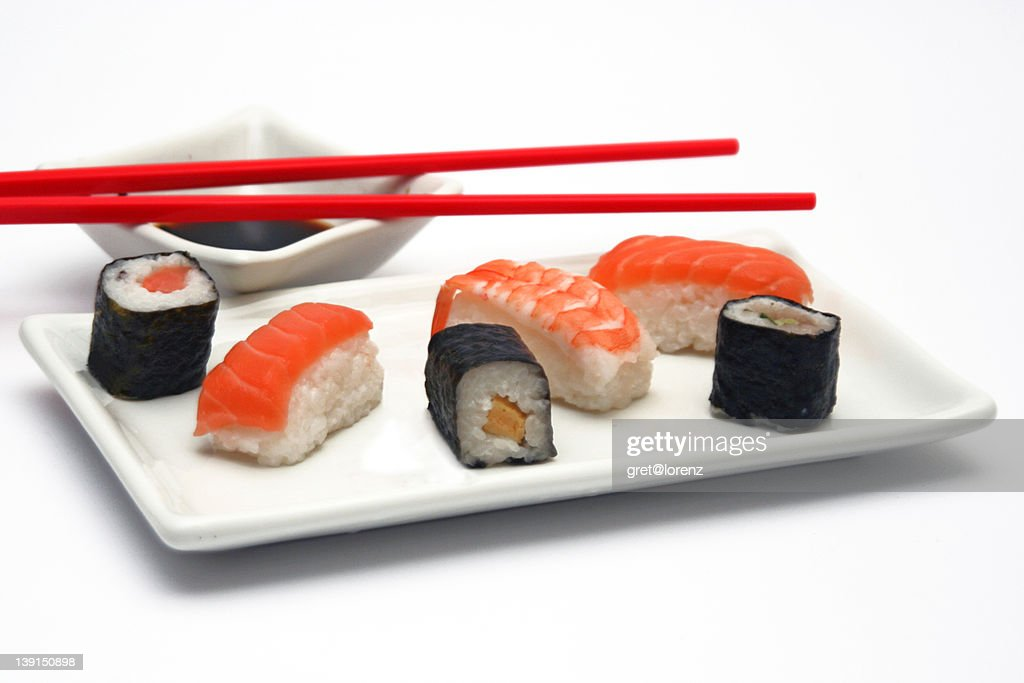 Sushi meal : Stock Photo