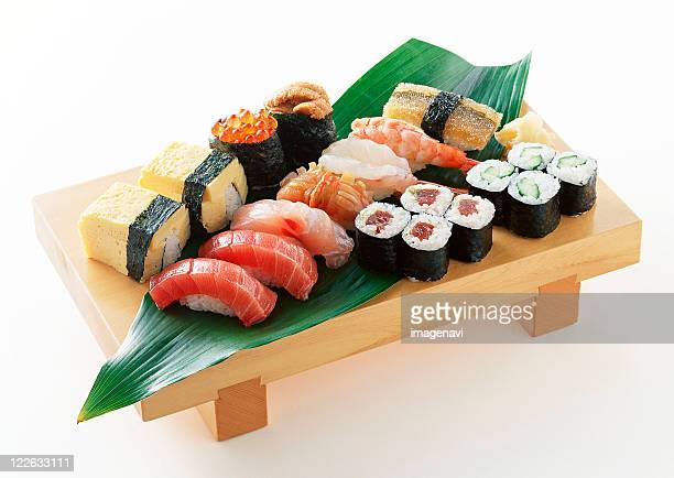 sushi - nigiri stock pictures, royalty-free photos & images