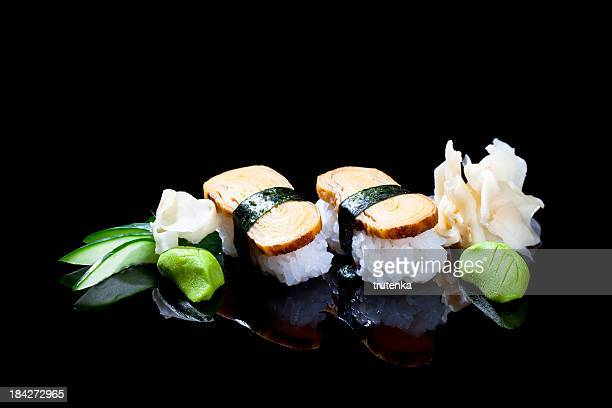 sushi - wasabi stock pictures, royalty-free photos & images