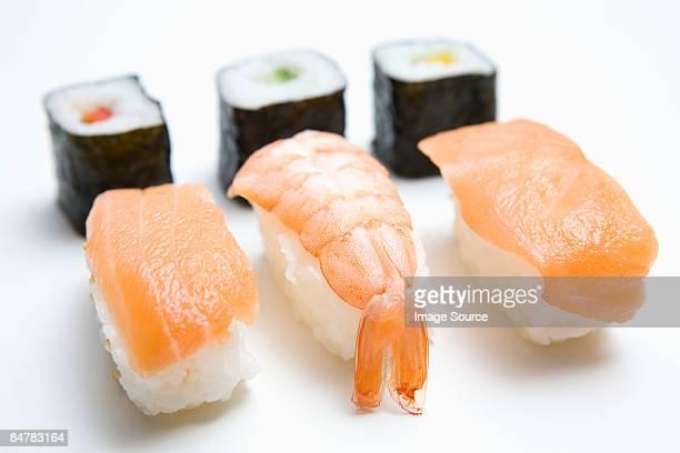 sushi  - nigiri ストックフォトと画像