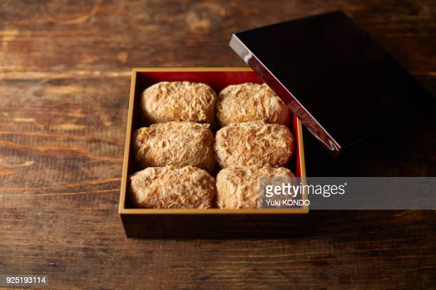 sushi - aburaage stock pictures, royalty-free photos & images