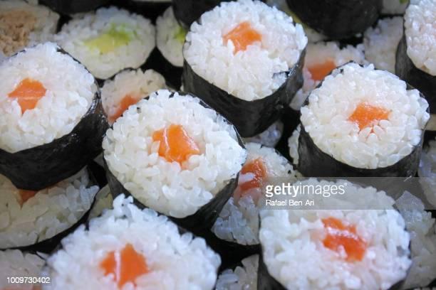 sushi ready to eat - rafael ben ari stock-fotos und bilder