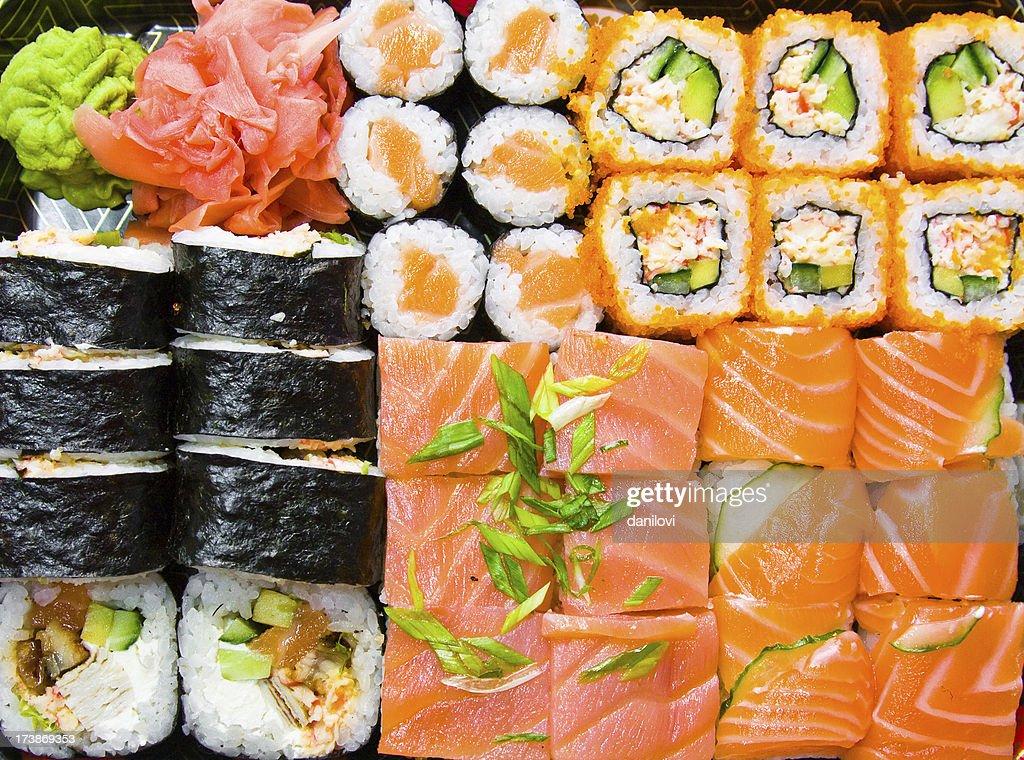 Juego de Sushi : Foto de stock