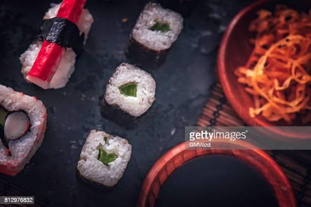 Sushi variatie