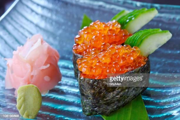 レッド寿司、キャビア