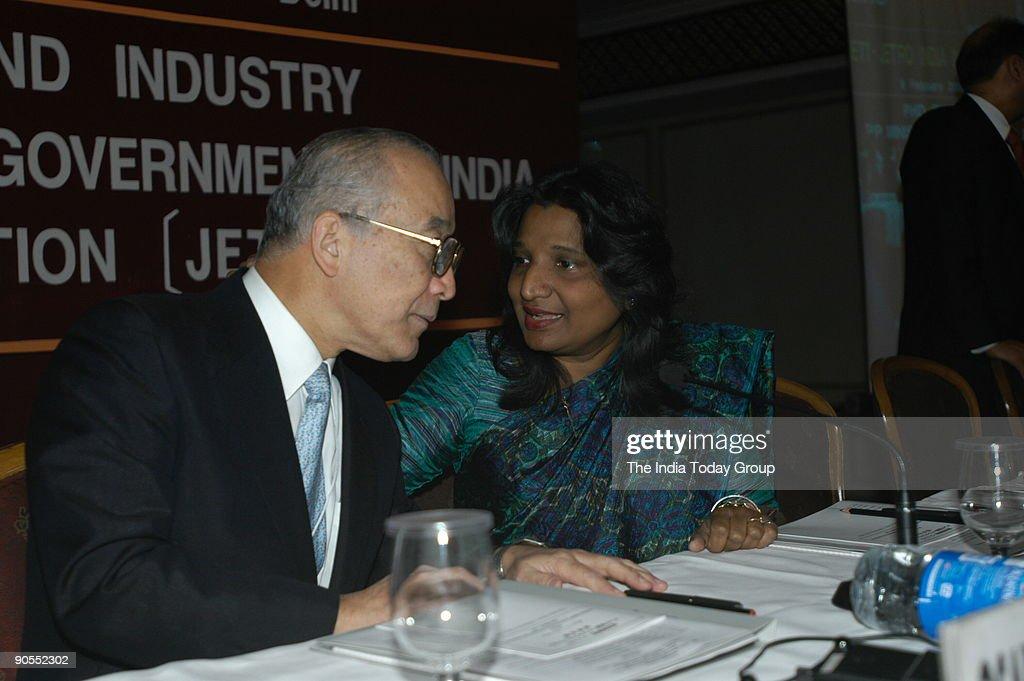 Sushma Berlia President of PHDCCI and Osamu Watanabe