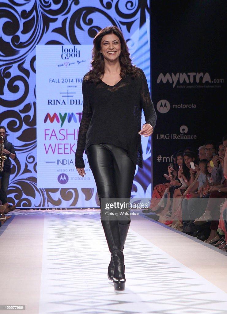 Myantra Fashion Weekend 2014 - Day 1