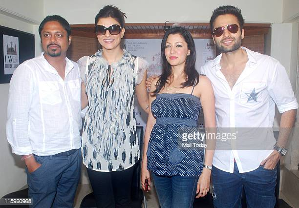 Sushmita SenAditi Govitrikar and Jackky Bhagnani at 'I AM SHE' press conference in Bandra Mumbai on 10th June 2011