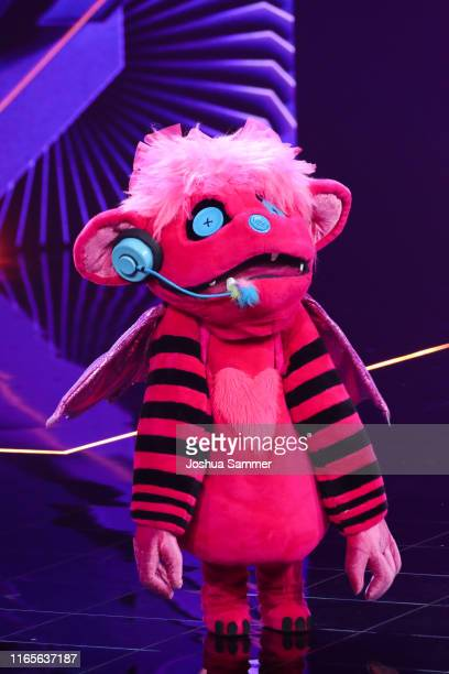 Susi Kentikian performs during the The Masked Singer finals at Coloneum on August 01 2019 in Cologne Germany