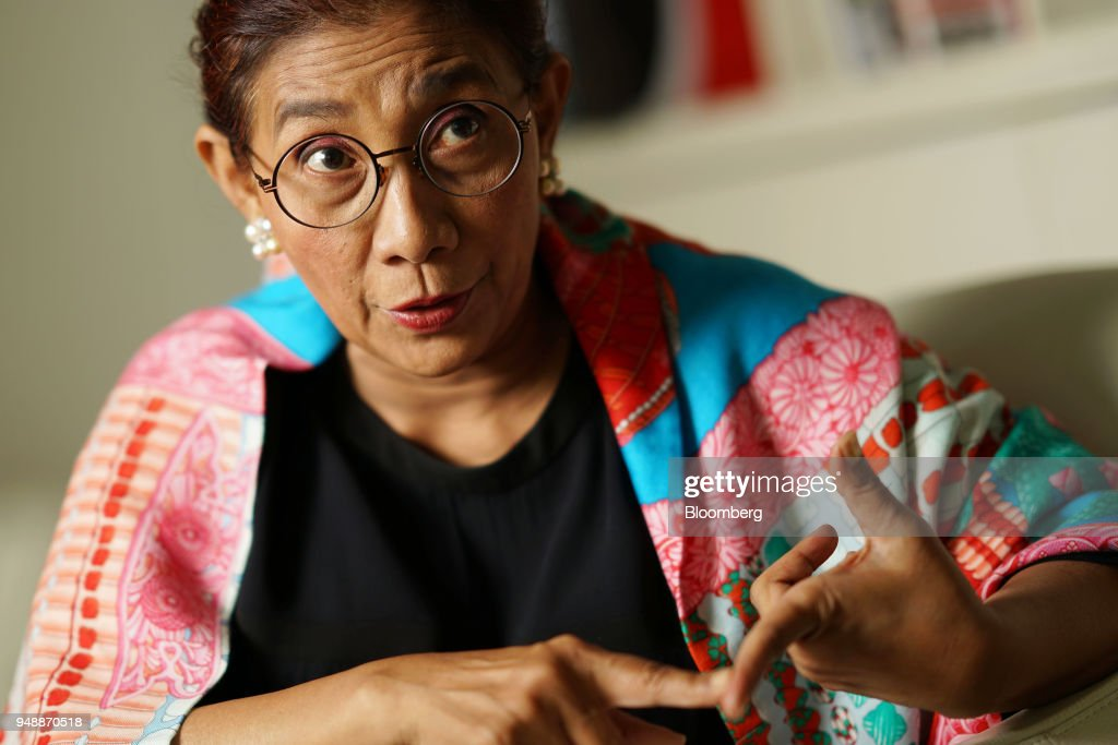 Indonesia's Fisheries Minister Susi Pudjiastuti Interview