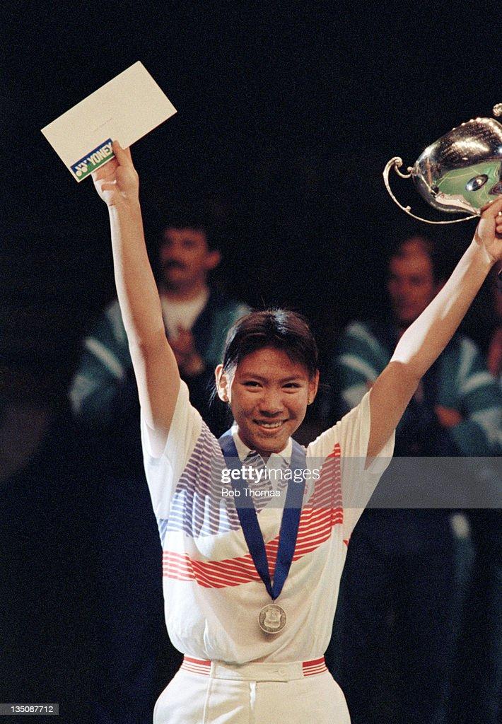 Susi Susanti - All England Badminton Champion : News Photo