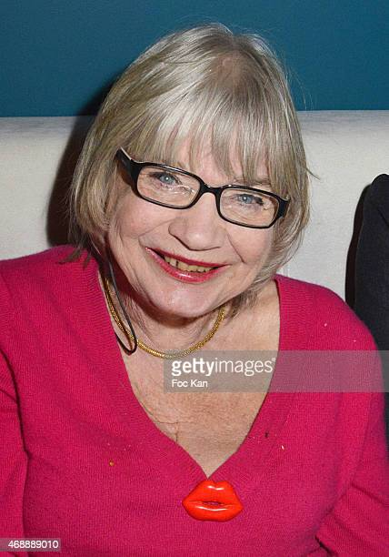 Susi Wyss attends The Thomas Dutronc Friends Private Concert At the Victoria on April 7 2015 in Paris France