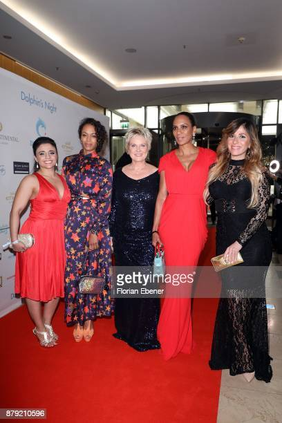 Susianna Kentikian Milka Loff Fernandes Birgit Lechtermann Barbara Becker and Guelcan Kamps attend the charity event Dolphin's Night at...