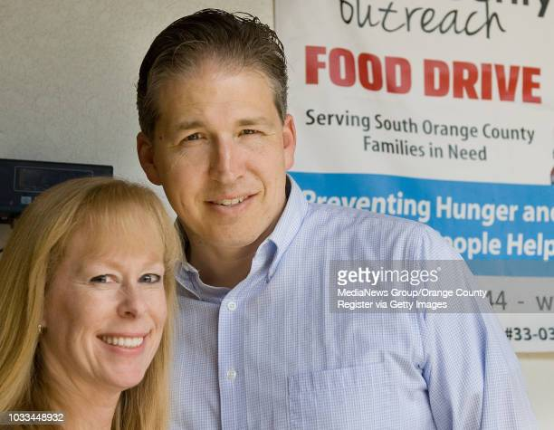 Susie and Robert Ming take part in a project to give some idea of what it is like to live in poverty and have to depend on food from a charity They...