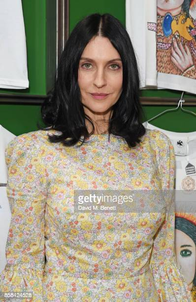 Susie Cave attends the Dover Street Market open house on October 6 2017 in London England