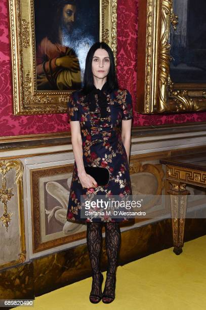 Susie Cave attends the Gucci Cruise 2018 fashion show at Palazzo Pitti on May 29 2017 in Florence Italy