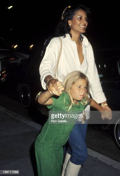 Susie Coelho and Chastity Bono on June 10 1977 dine at The Palm Restaurant in Los Angeles California