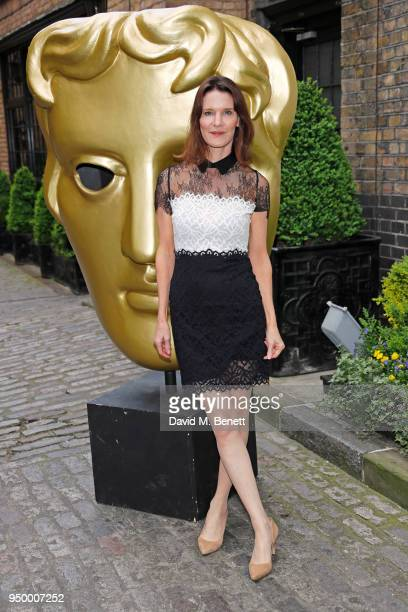 Susie Dent arrives at the British Academy Television Craft Awards held at The Brewery on April 22 2018 in London England