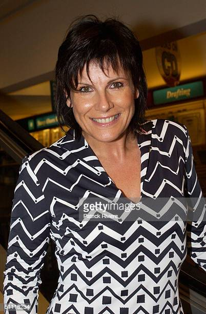 Susie Elelman at Australia's most photographed model of the 40s and 50s June DallyWatkins launching of her new book 'The Secret Behind My Smile' at...
