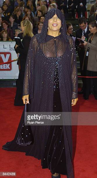 Susie Elelman attends the 46th Annual TV Week Logie Awards at the Crown Entertainment Complex April 18 2004 in Melbourne Australia