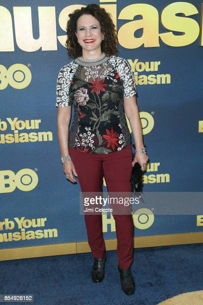 Susie Essman attends the Curb Your Enthusiasm Season 9 premiere at SVA Theater on September 27 2017 in New York City