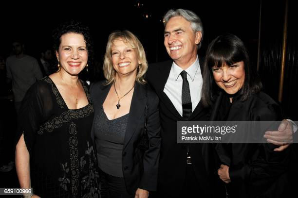 Susie Essman Robin Steinberg David Steinberg and Lisa Robinson attend Tribeca Film Festival premiere party for Whatever Works at Royalton Hotel on...