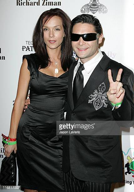 Susie Feldman and Corey Feldman attend the Billboard Magazine and Children Uniting Nations After Party held at the Beverly Hilton Hotel on February...