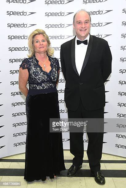 Susie Freeman and Viscount Crichton attend the House of Commons v House of Lords Speedo Charity Swim Gala Dinner at Porchester Hall on November 25...