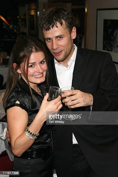 Susie Harding and Richard Bacon during Capital Radio -Help A London Child Charity Night at Dover Street in London, Great Britain.