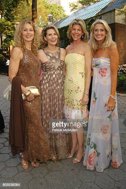 Susie Hayes Allison Stern Jamee Gregory and Ann Unterberg attend The Central Park Zoo hosts the WILDLIFE CONSERVATION SAFARI 2006 Anniversary of the...