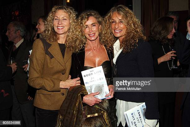 Susie Hayes Angie Rutherford and Ann Dexter Jones attend THE GOOD LIFE a Novel by Jay McInerney Book Party hosted by Anne Hearst at 21 Club on...