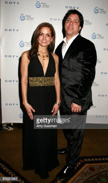 Susie Hilfiger and Andy Hilfiger attend the March of Dimes 31st Annual Million Dollar Beauty Ball on March 8 2006 in New York City