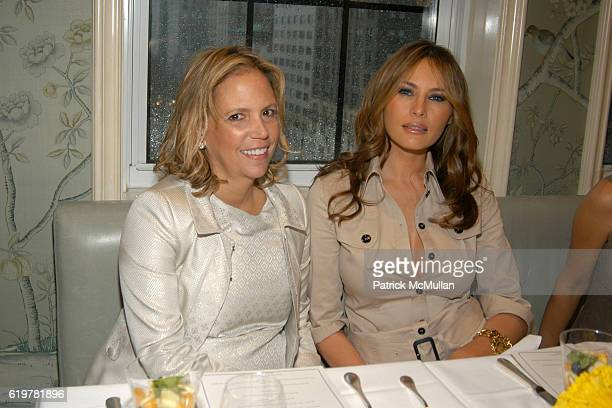 Susie Hilfiger and Melania Trump attend BEST CO's Fall Preview Benefit for THE SOCIETY OF MEMORIAL SLOAN KETTERING CANCER CENTER at Bergdorf Goodman...