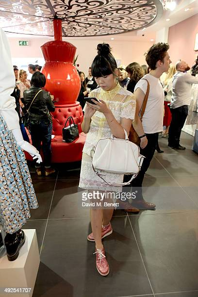 Susie Lau at the British Designer's Collective at Bicester Village on May 21 2014 in Bicester England