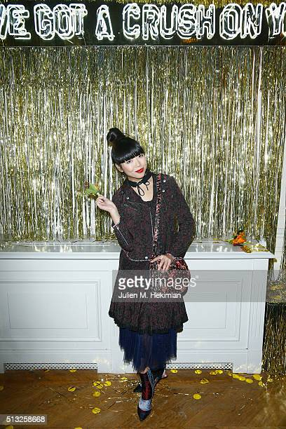 Susie Lau attends Prom 2016 Party hosted by Coach for the Paris Flagship opening as part of the Paris Fashion Week Womenswear Fall/Winter 2016/2017...