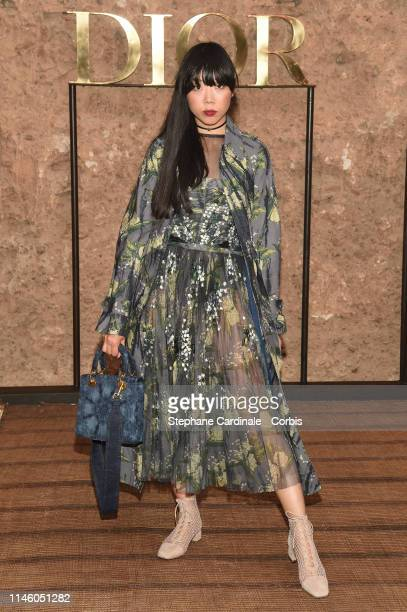 Susie Lau attends the Christian Dior Couture S/S20 Cruise Collection on April 29 2019 in Marrakech Morocco