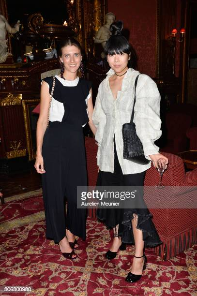 Susie Lau attends the dinner to celebrate the launch of Fabrizio Viti Cruise 18 Collection Back In Love Again at Hotel La Pavia on July 3 2017 in...